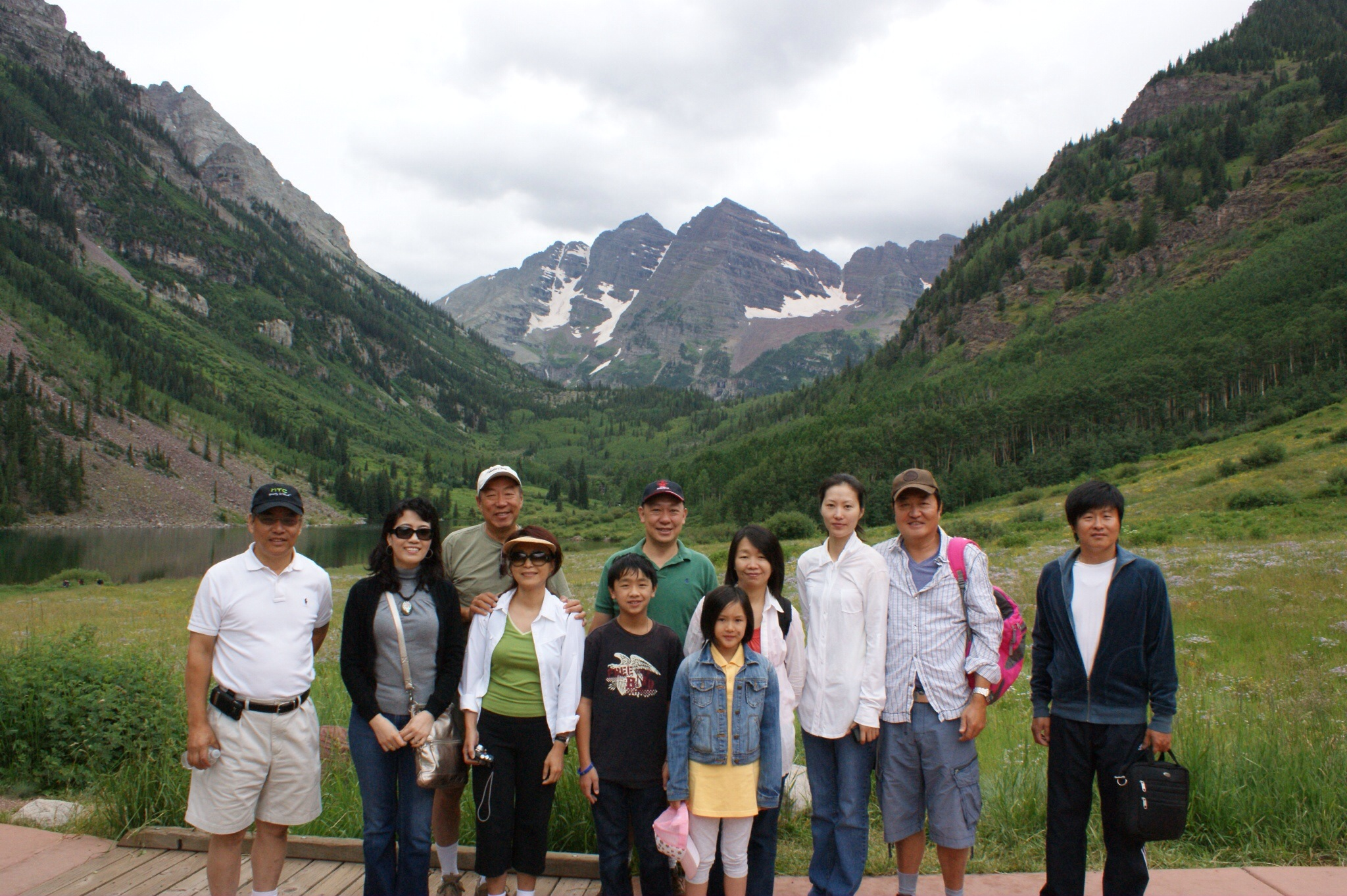 Maroon Bells - 9,500 feet