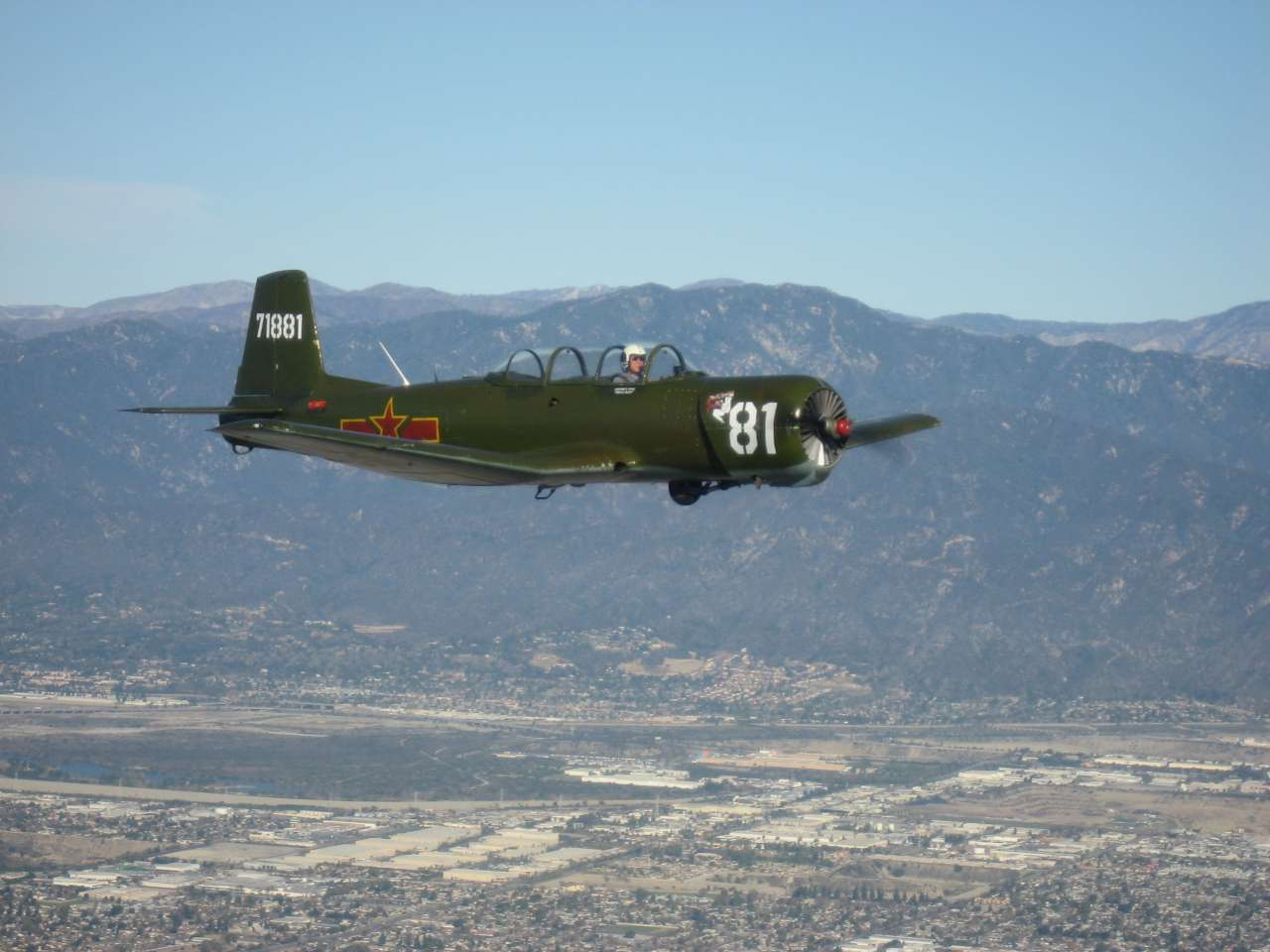 Jeffrey's CJ-6 N595JF fly with us