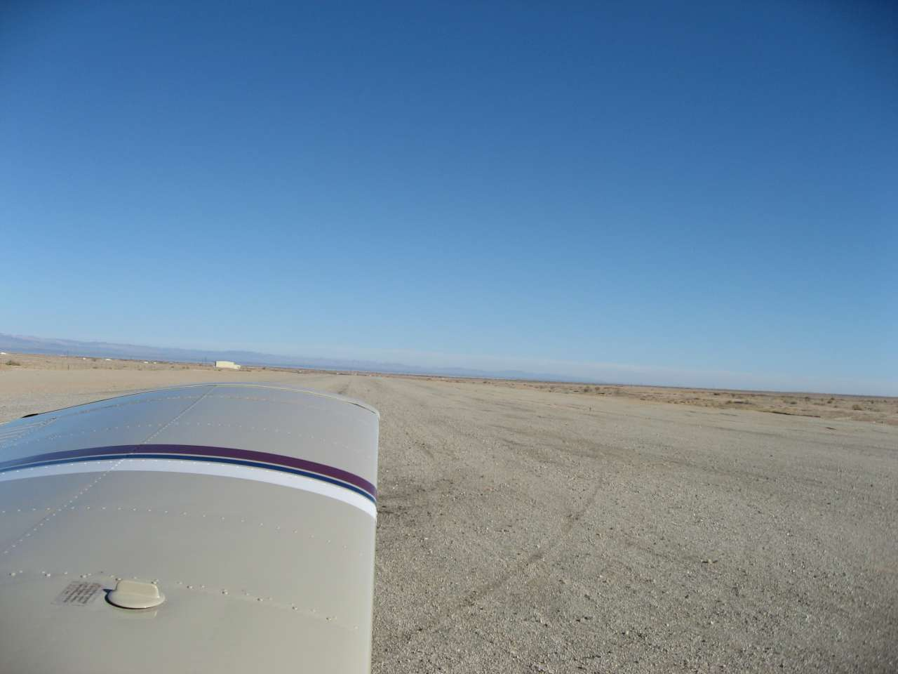 Saltant Sea Airport Gravel Runway