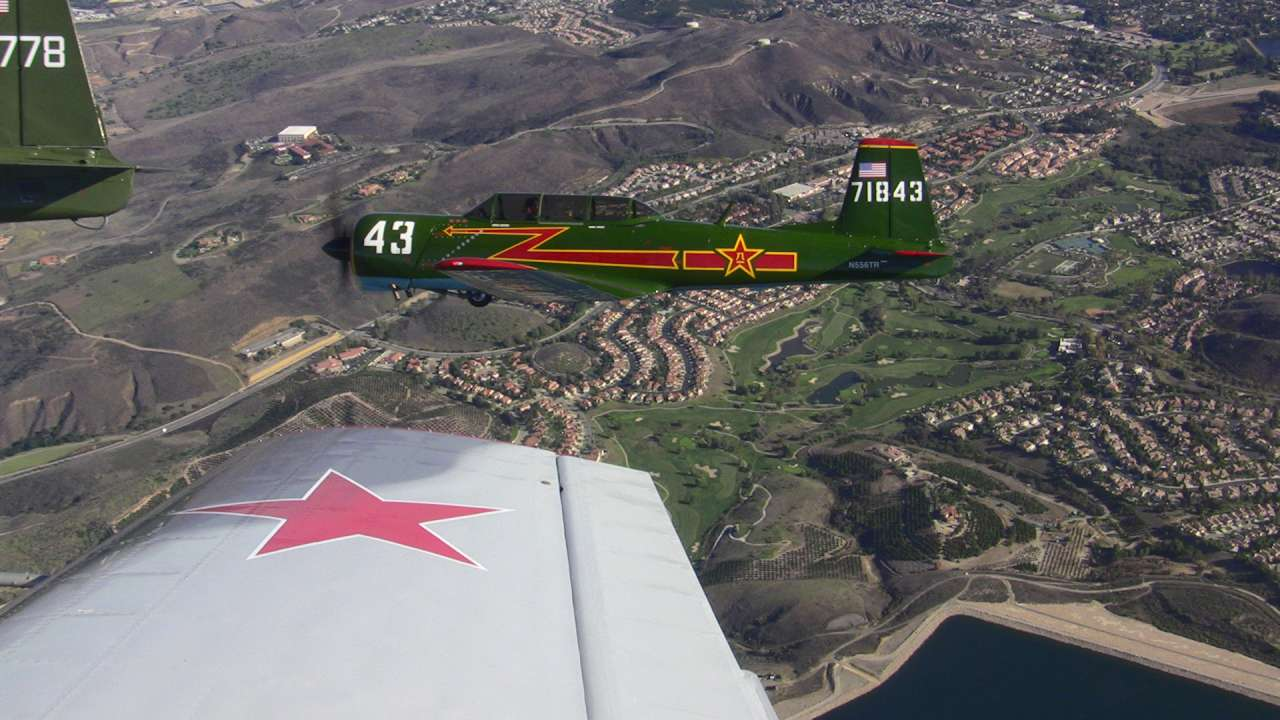 Ronald Reagan Library on the nose of 43