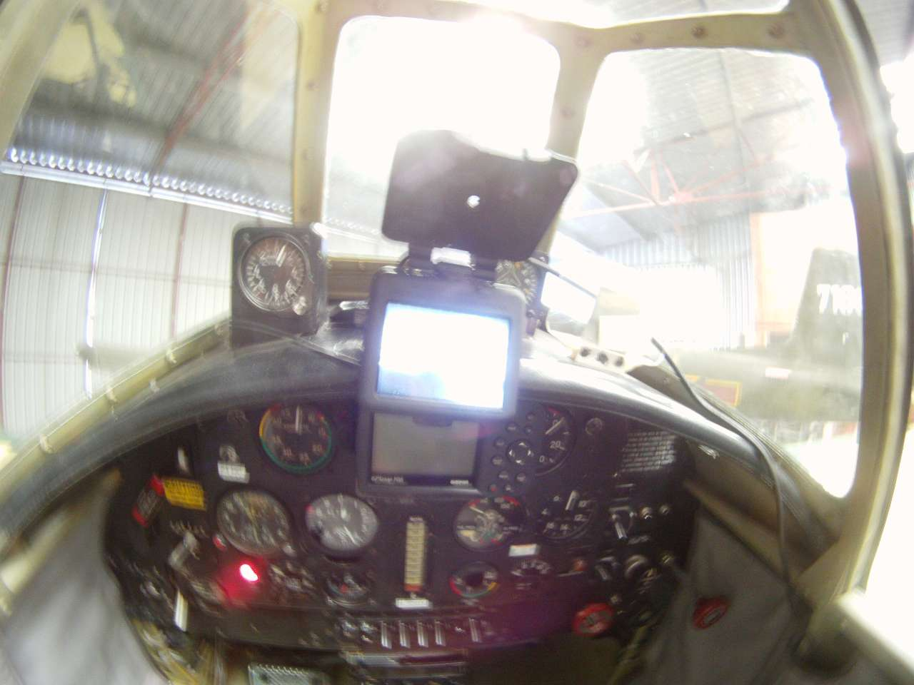 cockpit LCD display